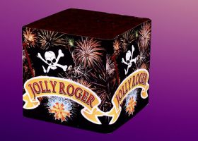 fuochi d'artificio Jolly Roger